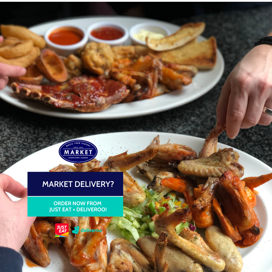 Order from Just Eat or Deliveroo.