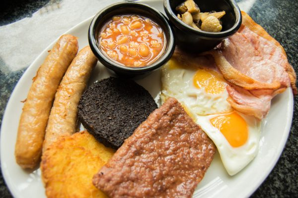 Large Scottish Breakfast.
